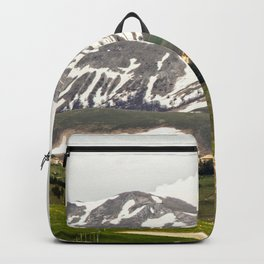 Italian mountain landscape Backpack