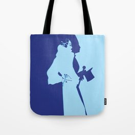 70s Deco Couple Tote Bag