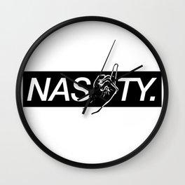 Nasty Wall Clock