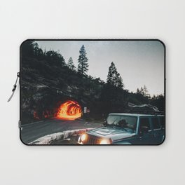 driving in the yosemite Laptop Sleeve