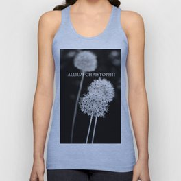 Allium cristophii Unisex Tank Top