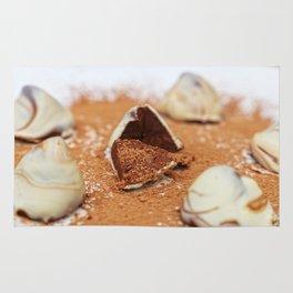 White Chocolate Truffels Rug