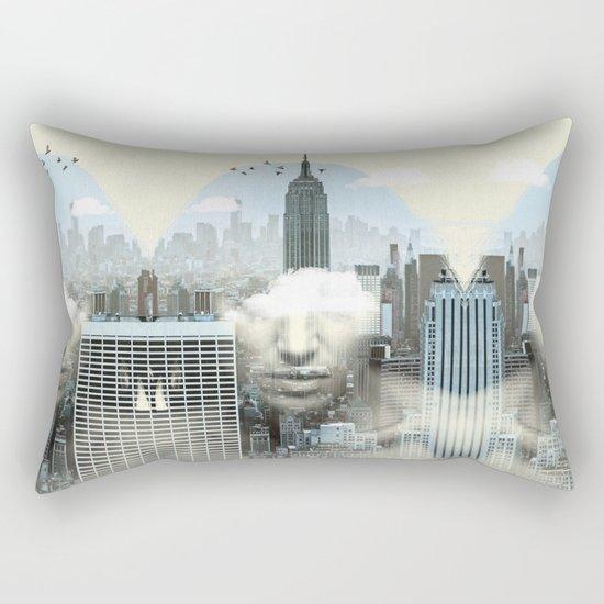 New York City Shift Rectangular Pillow