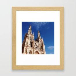 Burgos Cathedral Framed Art Print