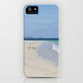 Beach 3 Lewis and Harris 3 iPhone Case