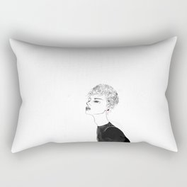 Pretty Boy Rectangular Pillow