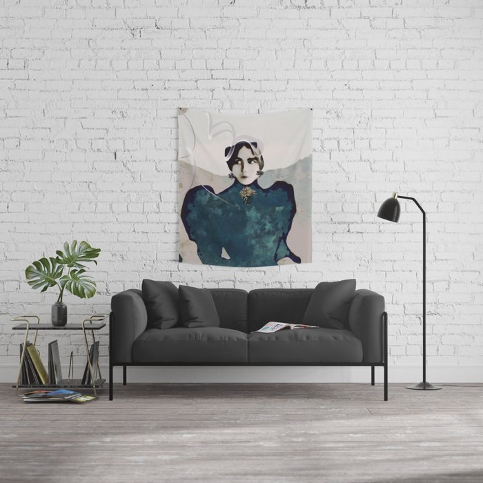 Mamsell Fredrika Wall Tapestry