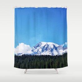 Mount Rainier, Washington Shower Curtain