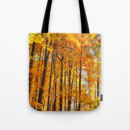 Autumn Hillside Tote Bag
