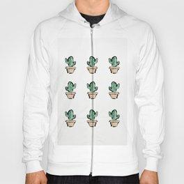 Cactus Pattern Hoody