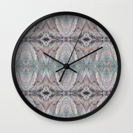 Rainbow Rock Wall Clock