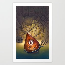 The Haunter of the Dark Art Print
