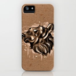 Bearly Brown iPhone Case