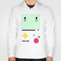 bmo Hoodies featuring BMO!!  by anthonykun
