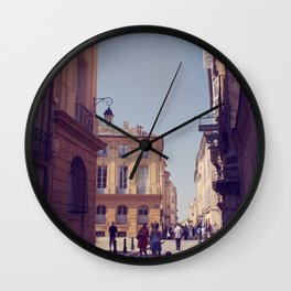 France Forever Wall Clock