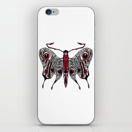 Bored Eye Moth of Utterly Dismal Conversationalists iPhone Skin