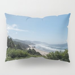 Californian Coastline Pillow Sham