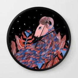 Zodiac - Aries Wall Clock