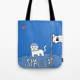 Space Cat! Tote Bag