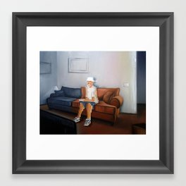 Squandered Life Framed Art Print