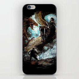 Feathered Death iPhone Skin