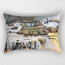 Free fall into space Rectangular Pillow
