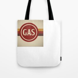 Retro Gas Station Tote Bag