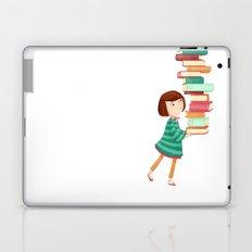 Library Girl 3 Laptop & iPad Skin