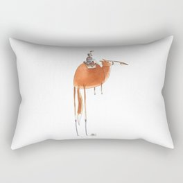 Numero 10 -Cosi che cavalcano Cose - Things that ride Things- NUOVA SERIE - NEW SERIES Rectangular Pillow