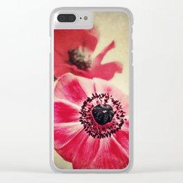 Sweet Anemone II Clear iPhone Case