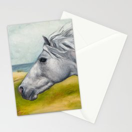 Horse Profiles 1 Stationery Cards