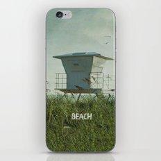 Off Duty Lifeguard iPhone & iPod Skin