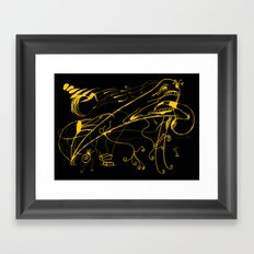 Grito Framed Art Print