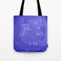 agate Tote Bags featuring Agate by Audrey Erickson