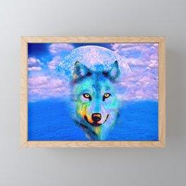 WOLF #2 Framed Mini Art Print