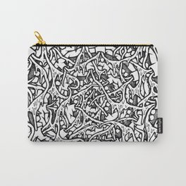 Monster Mouth Mandala Carry-All Pouch