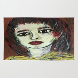 THE WORRIED GIRL Rug