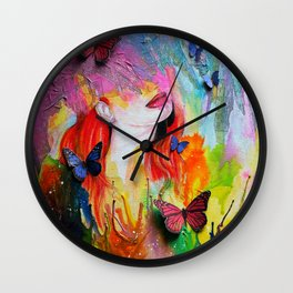 Dripping With Finesse Wall Clock