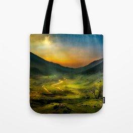 Shadows at Sunset Tote Bag
