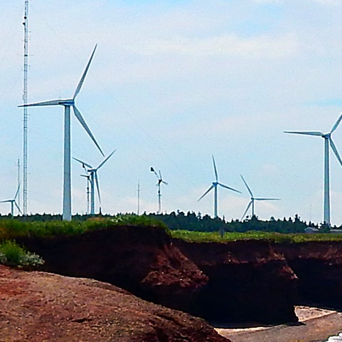 North Cape Wind Park and Cliff Leggings