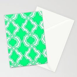Grille No. 1 -- Seafoam Stationery Cards