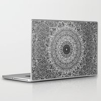 islam Laptop & iPad Skins featuring Ash Mandala by Mantra Mandala