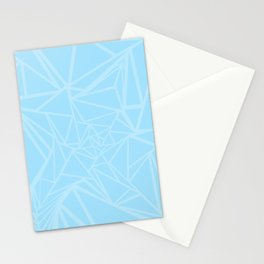 Abstract Origami Bird Stationery Cards