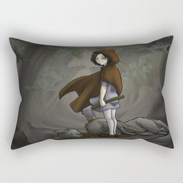 Red Ridding Hood Rectangular Pillow