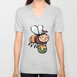 Little Bee Unisex V-Neck