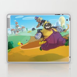 The Junkboys Take the Mushroom Kingdom Laptop & iPad Skin