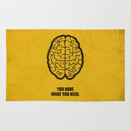 Lab No.4 -You Have What You Need Corporate Start-up Quotes poster Rug
