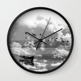 Lonely Waters Wall Clock