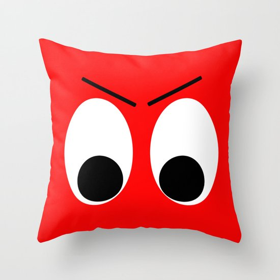 I is Mad Throw Pillow
