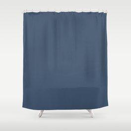 Simply Indigo Blue Shower Curtain